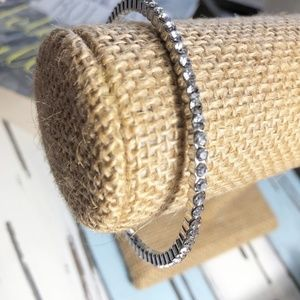 3 /35 DIAMOND PAVED BANGLE STACKABLE BRACELET
